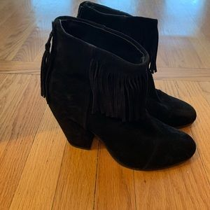 Rag and Bone fringe booties